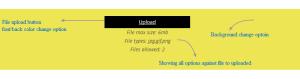 file uploader area