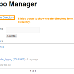 NM Repo Manager Create Directory