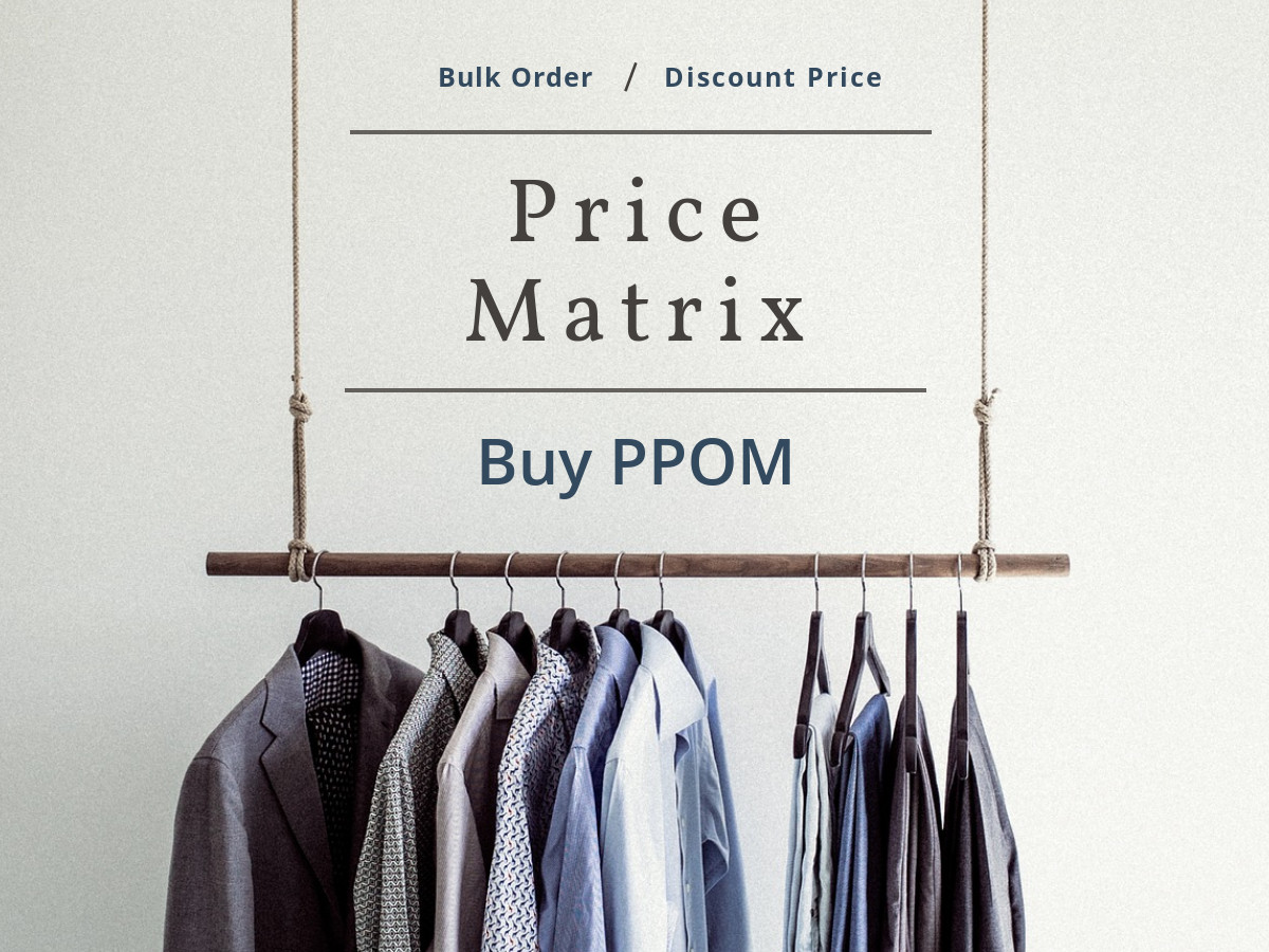 PPOM Price Matrix