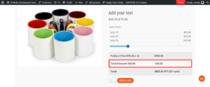 ppom price matrix frontend discount