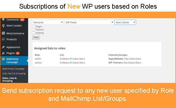 Mailchimp Wordpress Plugin For Subscription Form Create And Manage - Mailchimp template variables