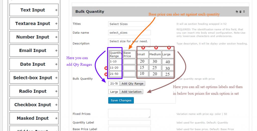 PPOM Bulk Quantity Option