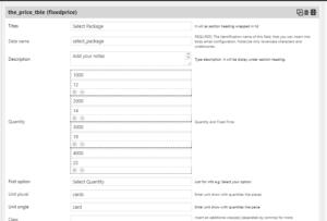 packageprice-settings