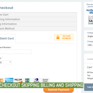 2Checkout Skipping Billing And Shipping