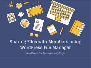 Blog – File Sharing
