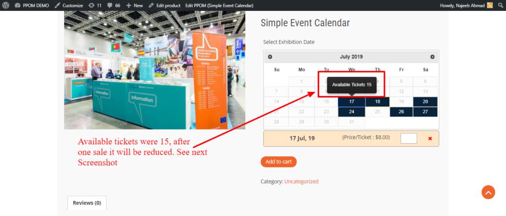 Event Ticket Stock 1