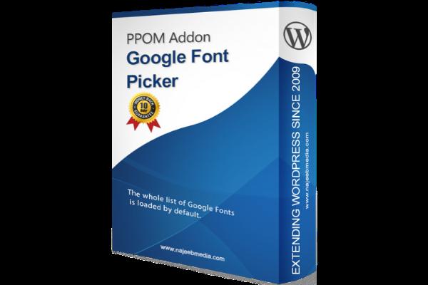 GoogleFontPicker – 600×400