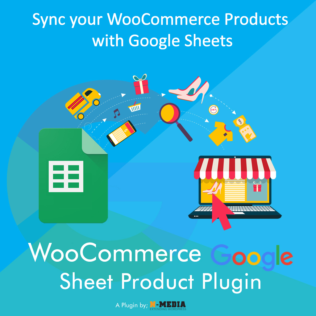 WooCommerce Google Sheet Products Import