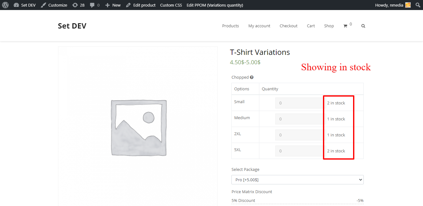 variation-quantities-frontend-stock